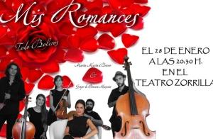 Mis Romances todo boleros Teatro Zorrilla