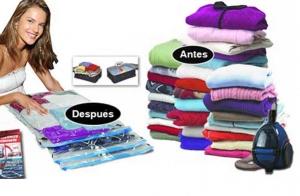 Pack 5 bolsas para guardar ropa al vacío