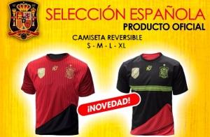 Camiseta Oficial de la Selección Española