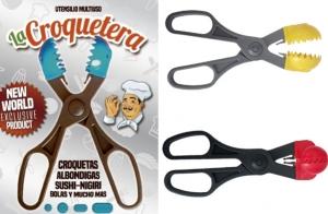 La Croquetera, tijeras para hacer croquetas