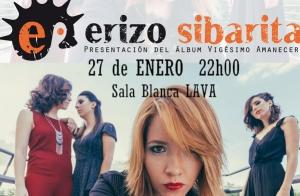 Concierto Erizo Sibarita en el LAVA