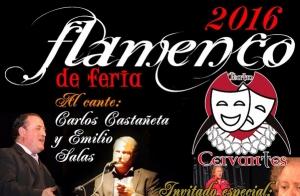 Flamenco de feria en el Teatro Cervantes