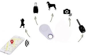 Localizador GPS antipérdida con Bluetooth