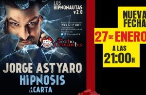 Hipnosis a la carta con Jorge Astyaro