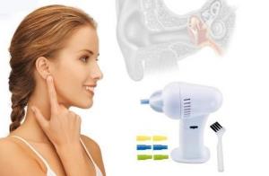 Limpiador y secador de oídos electrónico