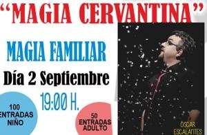 Magia para niños en el Teatro Cervantes
