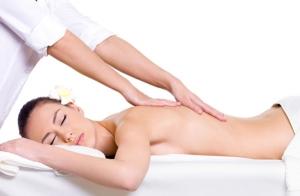 Masaje relajante muscular y radiofrecuencia