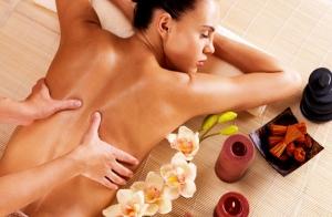 Fantástico masaje relajante muscular