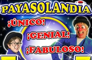 Ven a ver el increíble show Payasolandia