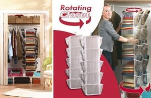 Organizador de armario Rotating Closet