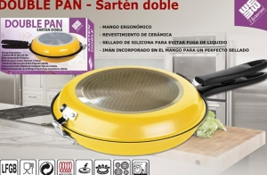 Sartén doble para tortilla Double Pan