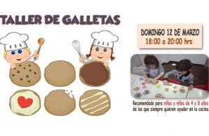 Taller de galletas para niños ¡20 plazas!